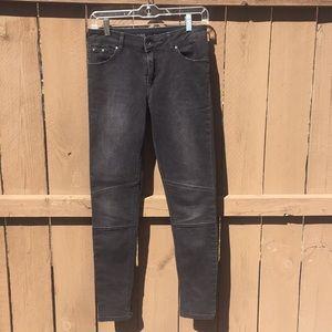 Zara Z1975 Denim Moto Jeans